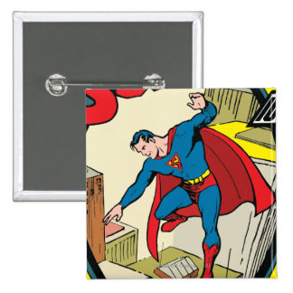 Superman (Complete Story) 15 Cm Square Badge
