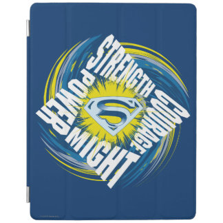 Superman Courage Strength Might Power iPad Cover