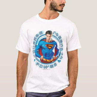 Superman Courage Strength Power T-Shirt