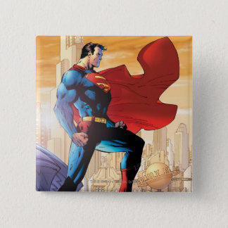 Superman Daily Planet 15 Cm Square Badge