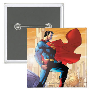 Superman Daily Planet 15 Cm Square Badge