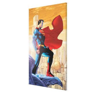 Superman Daily Planet Canvas Print