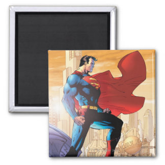 Superman Daily Planet Square Magnet