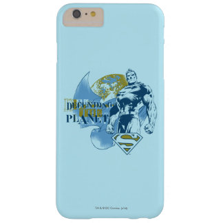 Superman | Defending the Planet Barely There iPhone 6 Plus Case