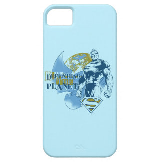 Superman | Defending the Planet iPhone 5 Cover