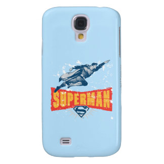 Superman distressed galaxy s4 case