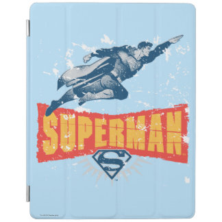Superman distressed iPad cover