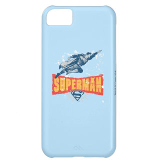 Superman distressed iPhone 5C case