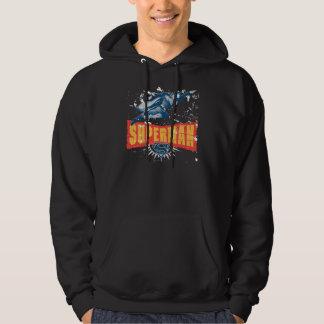Superman distressed sweatshirts