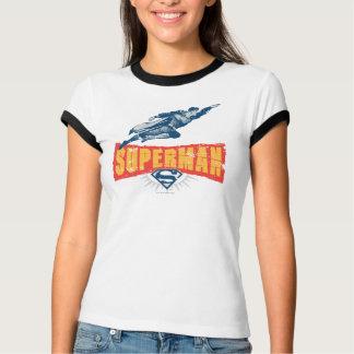 Superman distressed t shirt