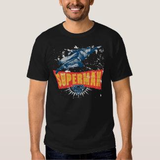 Superman distressed t shirts