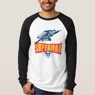Superman distressed tshirt