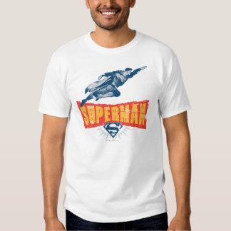 Superman distressed tshirts