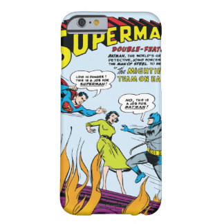 Superman (Double-Feature with Batman) Barely There iPhone 6 Case