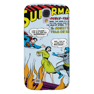 Superman (Double-Feature with Batman) Galaxy S4 Case