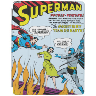Superman (Double-Feature with Batman) iPad Cover