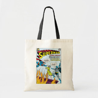 Superman (Double-Feature with Batman) Tote Bag