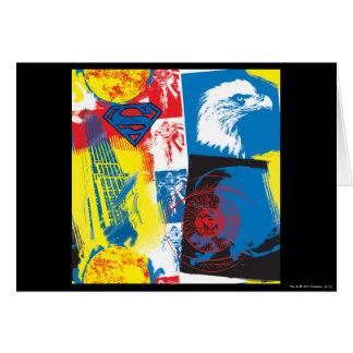 Superman Eagle Collage Card