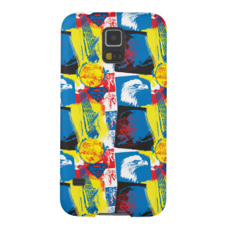 Superman Eagle Collage Cases For Galaxy S5