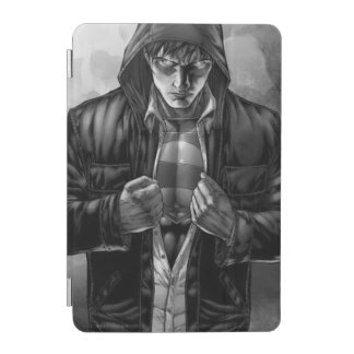 Superman Earth Cover - Black and White iPad Mini Cover
