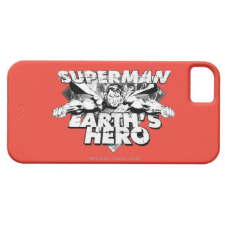 Superman Earth's Hero iPhone 5 Covers