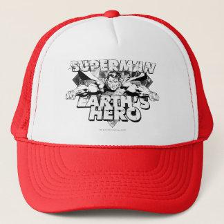 Superman Earth's Hero Trucker Hat