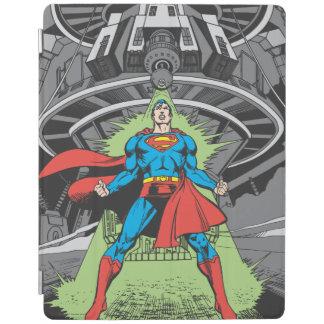 Superman Exposed to Kryptonite iPad Cover