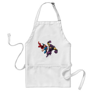 Superman Fights Enemy 2 Aprons