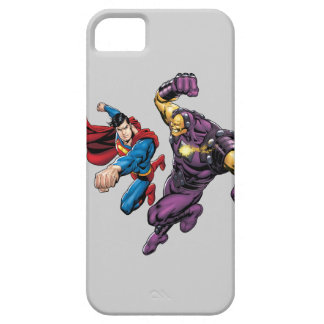 Superman Fights Enemy 2 iPhone 5 Cover