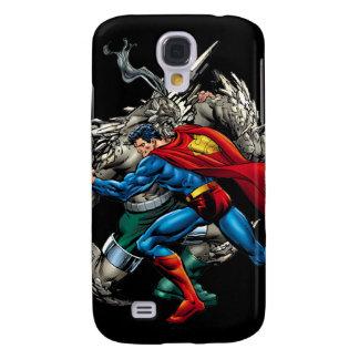 Superman Fights Enemy Galaxy S4 Case