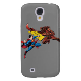 Superman Fights Galaxy S4 Case