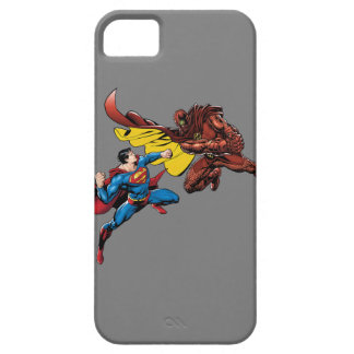 Superman Fights iPhone 5 Case