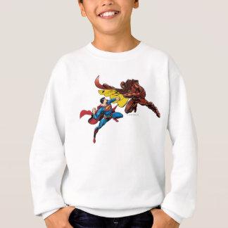 Superman Fights Sweatshirt