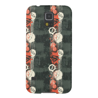 Superman/Flash Twisted Innocence Pattern Galaxy S5 Covers