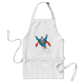 Superman Flies Forward Apron