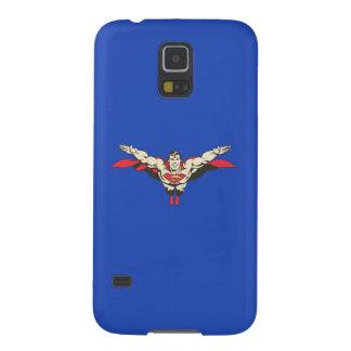 Superman Flies Forward Galaxy S5 Cases