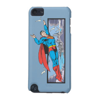 Superman Flies Thru City iPod Touch 5G Case