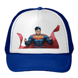 Superman Flying Cap