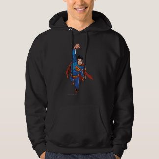 Superman Flying Forward Hoodie