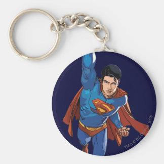 Superman Flying Forward Key Ring