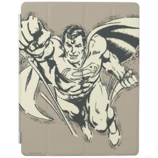 Superman Flying Grunge iPad Cover