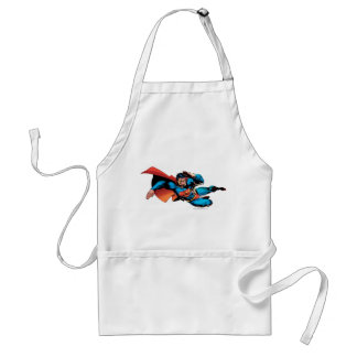 Superman Flying Kick Apron