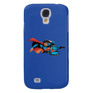 Superman Flying Kick Galaxy S4 Case