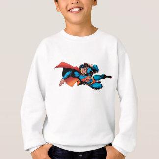 Superman Flying Kick Sweatshirt