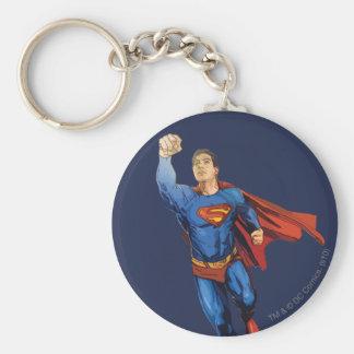 Superman Flying Left Key Ring