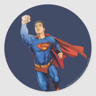 Superman Flying Left Stickers