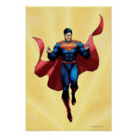 Superman Flying Posters