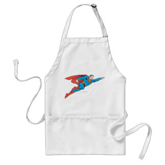 Superman Flying Right Standard Apron