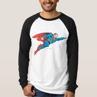 Superman Flying Right T Shirts