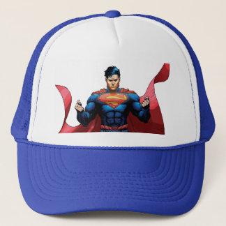 Superman Flying Trucker Hat